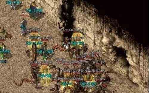 玛法复古传奇的野史地图篇•毒蛇谷(上)